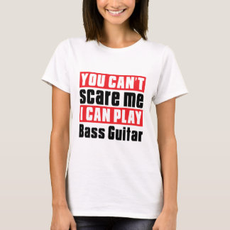 Bass Guitar  Scare Designs T-Shirt
