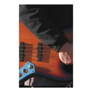 Bass Guitar Stationery