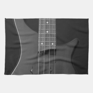bass guitar towels