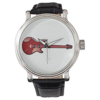 Bass guitar watch