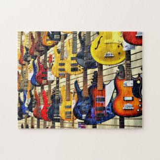 Bass Guitars Jigsaw Puzzle