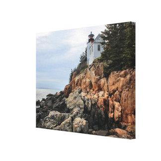 Bass Harbor Head Lighthouse, Maine Canvas Print