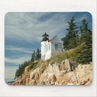 Bass Harbor Head Lighthouse Mouse Pad