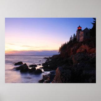 Bass Harbor Lighthouse Acadia National Park Poster