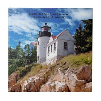 Bass Harbor Lighthouse, Bass Harbor Maine Tile