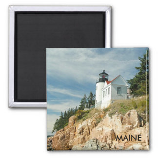 BASS HARBOR LIGHTHOUSE, MAINE MAGNET