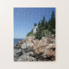 Bass Harbour Lighthouse Jigsaw Puzzle