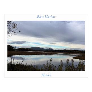 Bass Harbour Maine Postcard