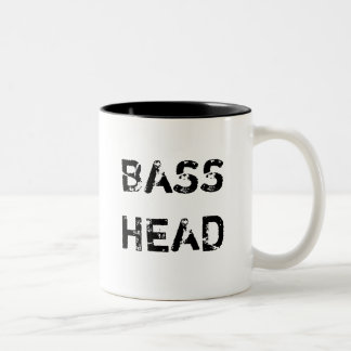 Bass Head coffee mug