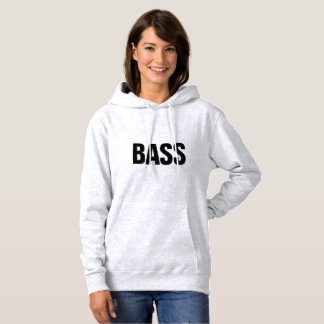 BASS hoodie, sweater shirt with overturns