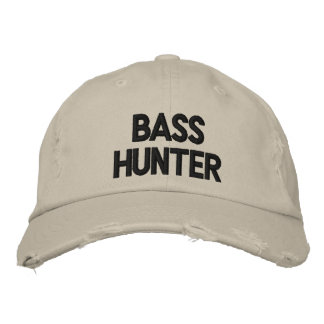 BASS HUNTER EMBROIDERED HAT