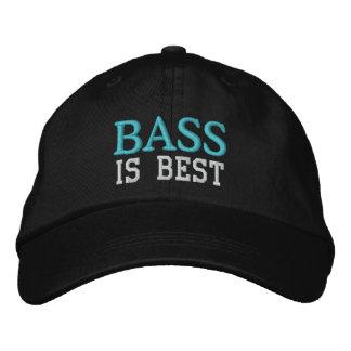 Bass Is Best Music Cap