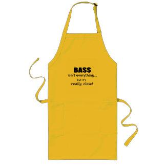 Bass Isn't Everything Long Apron