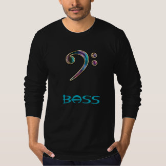 Bass ~ Jeweled Rainbow Bass Clef Music Hoodie