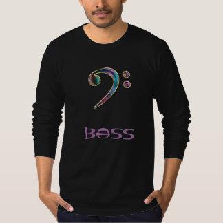 Bass ~ Jeweled Rainbow Bass Clef Music Hoodie