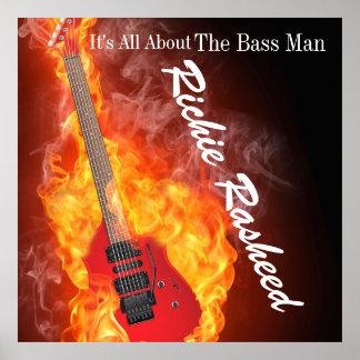 Bass Man - Music Poster