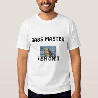 BASS MASTER-FISH ON TSHIRTS