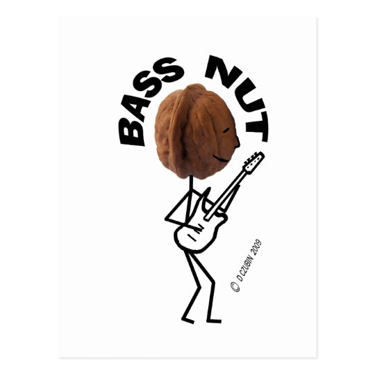 Bass Nut Postcard