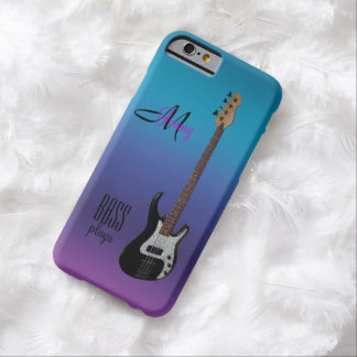 Bass Playa Personalized Bass Guitar iPhone 6 Case