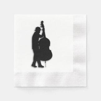 Bass Player Musician Paper Napkin