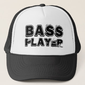 BASS PLAYER TRUCKER HAT