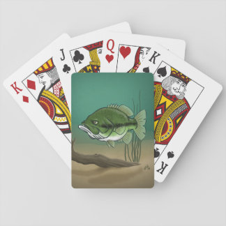 Bass Playing Cards