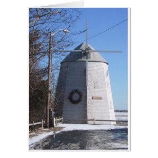Bass River Windmill Card