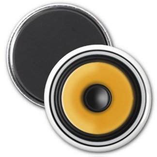 """Bass Speaker"" Fridge Magnet"