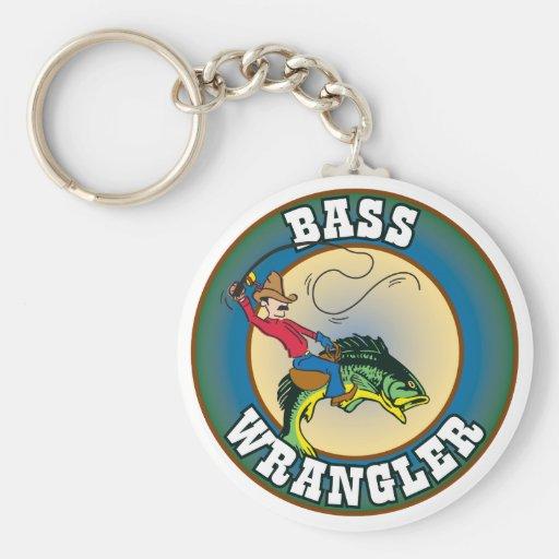 Bass Wrangler Key Chain
