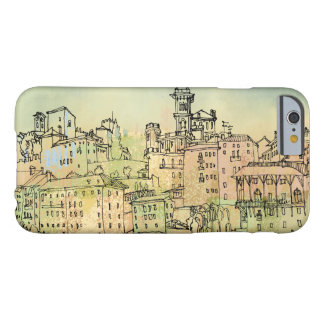 Bassano Del Grappa Italy Watercolor Barely There iPhone 6 Case
