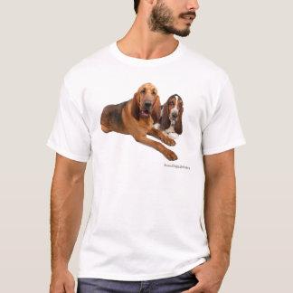 Basset and Bloodhound Buddies T-Shirt