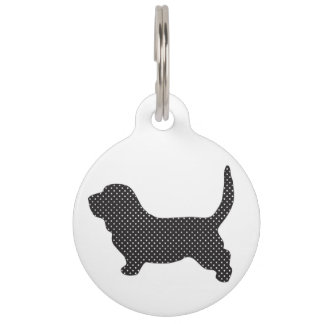 Basset and Proud of it Pet Nametag