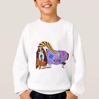 Basset Bedtime Sweatshirt