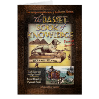 Basset Book of Knowledge Card