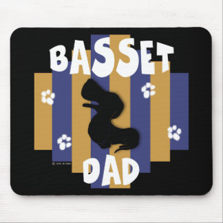 Basset Dad Mousepad