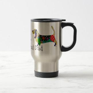 Basset Dad Travel Mug