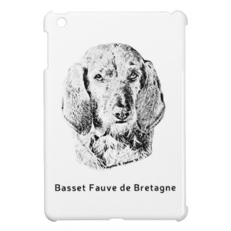 Basset Fauve de Bretagne Drawing iPad Mini Cover