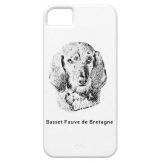 Basset Fauve de Bretagne Drawing iPhone 5 Case