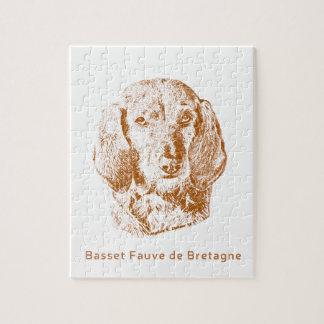 Basset Fauve de Bretagne Jigsaw Puzzle