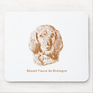 Basset Fauve de Bretagne Mouse Pad