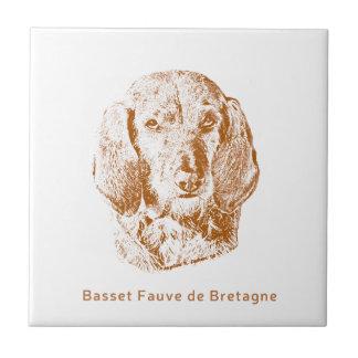 Basset Fauve de Bretagne Tile