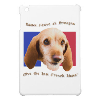 Basset Fauve deBretagne Give Best French Kisses Cover For The iPad Mini