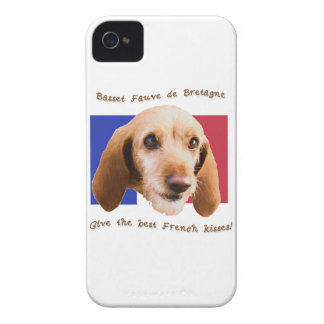 Basset Fauve deBretagne Give Best French Kisses iPhone 4 Covers