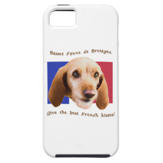 Basset Fauve deBretagne Give Best French Kisses iPhone 5 Cover