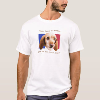 Basset Fauve deBretagne Give Best French Kisses T-Shirt