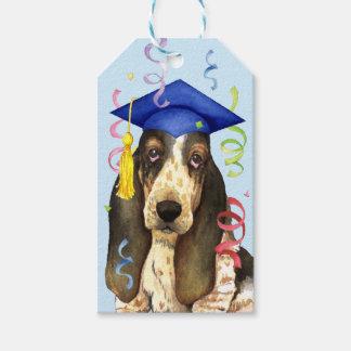 Basset Graduate Gift Tags
