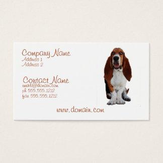 Basset Hond Dog Business Card