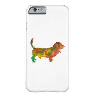Basset Hound 01 in watercolor 2 Barely There iPhone 6 Case
