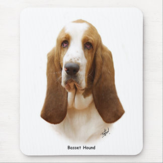Basset Hound 9J055D-18 Mouse Pad