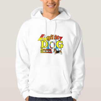 Basset Hound Agility Gifts Hoodie